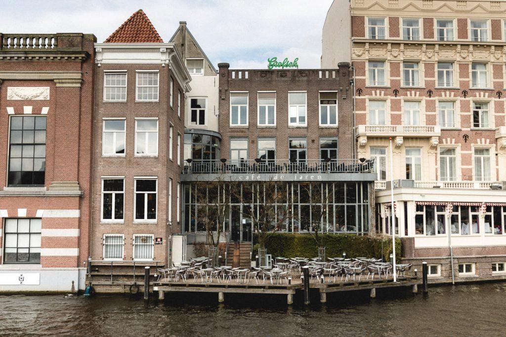 Amsterdam Reiseblog - Essen in Amsterdam, Cafe de Jaren