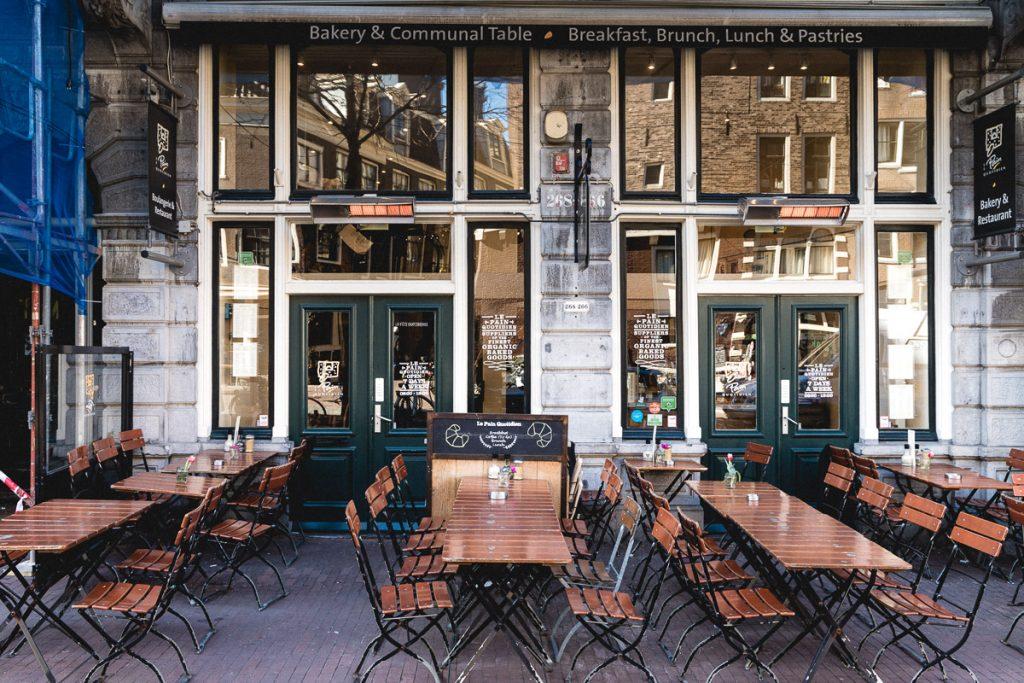 Amsterdam Reiseblog - Essen in Amsterdam, Le Pain Quotidien
