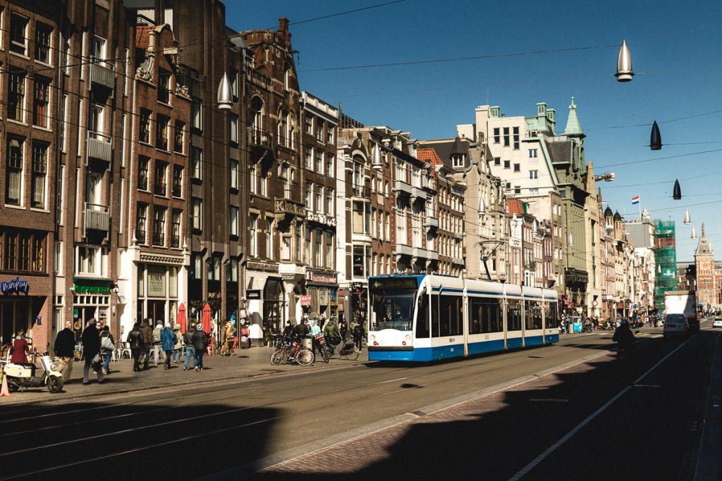 Amsterdam Reiseblog - Damrak