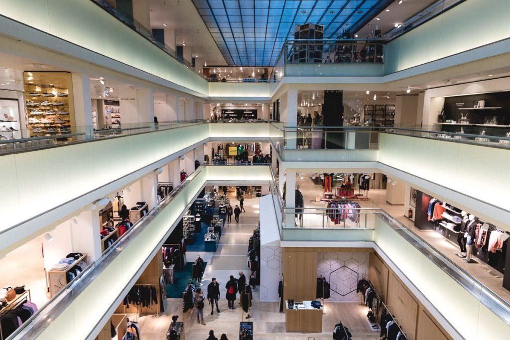 Amsterdam Reiseblog - Shopping in Amsterdam, Bijenkorf