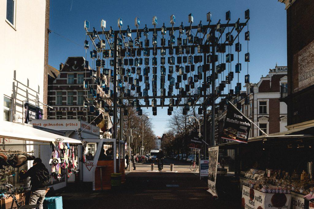 Amsterdam Reiseblog - Shopping in Amsterdam, Albert Cupymarkt