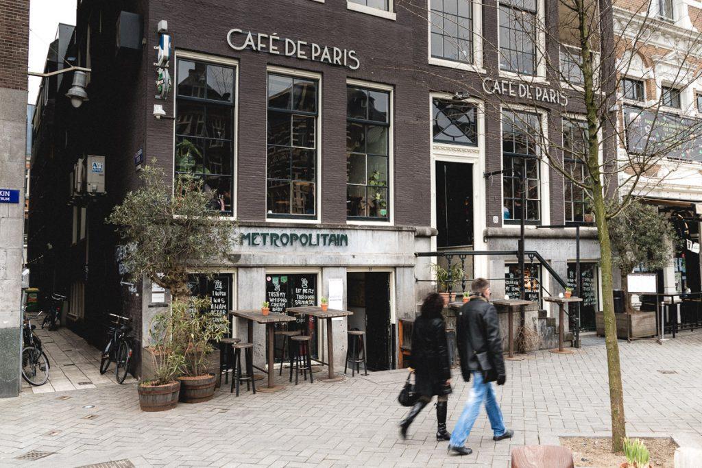 Amsterdam Reiseblog - Café de Paris