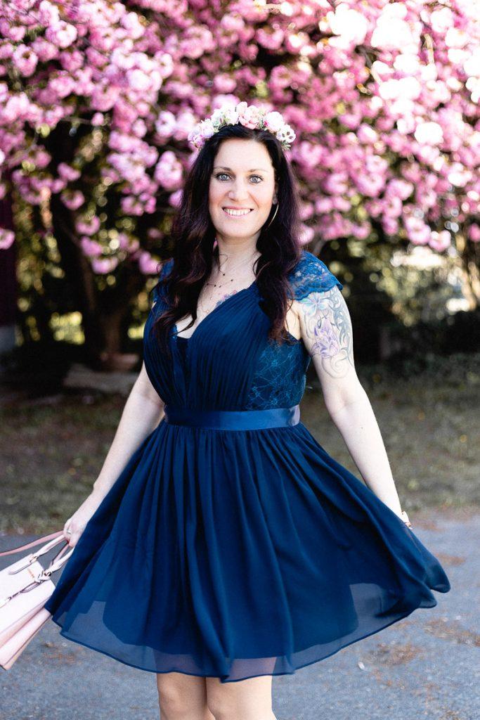 Love is in the air - Brautjungfernkleid in Marineblau // Hochzeit, Süße Brautjungfernkleider, www.miss-classy.com #hochzeit #wedding #brautjungfern