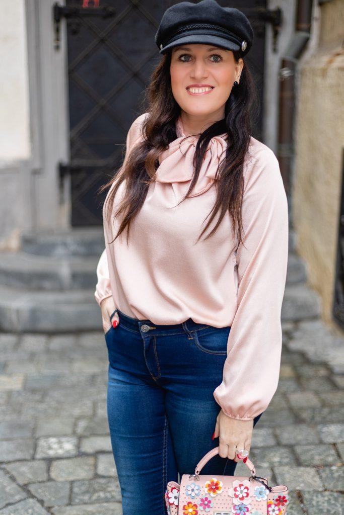 Schluppenbluse von Number One Graz - italienische Mode kaufen in Graz // Graz Blog, www.miss-classy.com #numberone #italienischemode #graz #fashion #italien #modeparadies