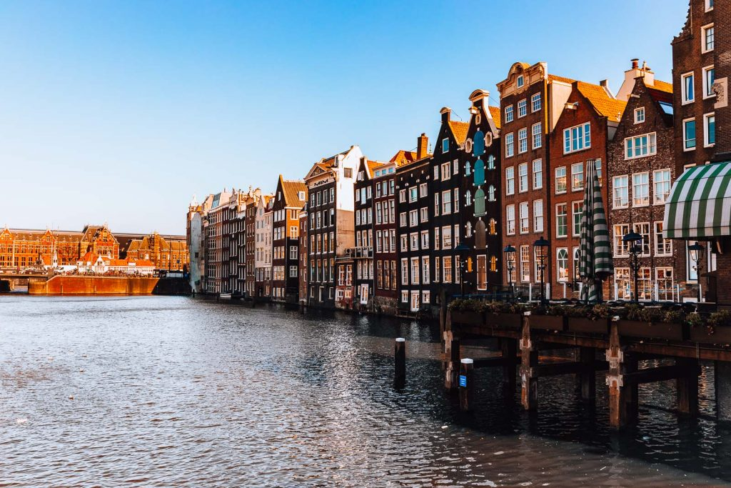 Amsterdam Reiseblog - Damrak, Dancing Houses