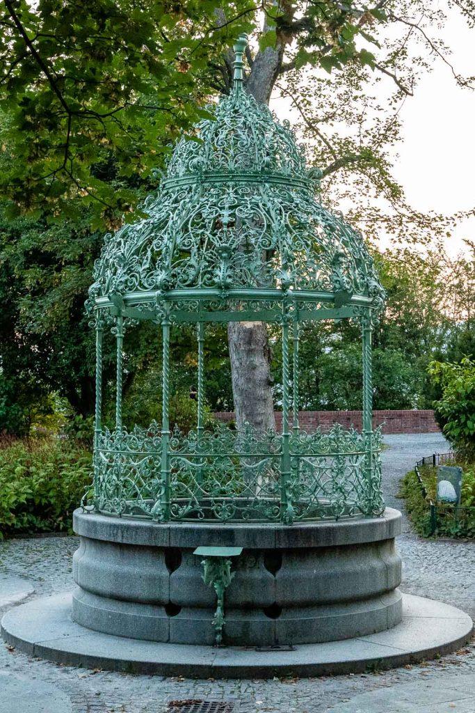 Brunnen Schloßberg Graz
