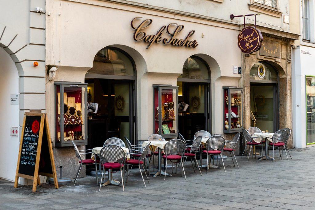 Café Sacher Herrengasse Graz