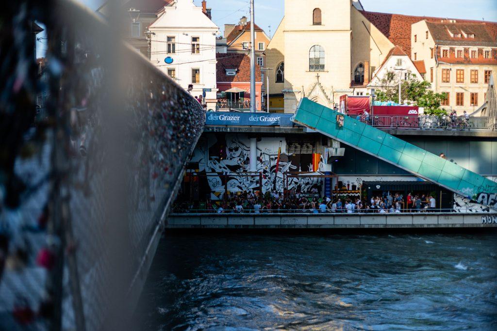 Citybeach - Hautbrücke Graz