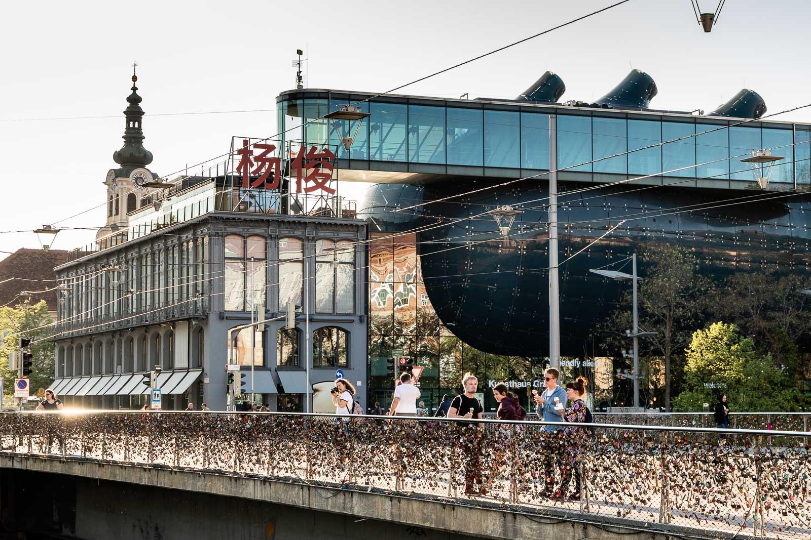 Kunsthaus Graz - Friendly Alien