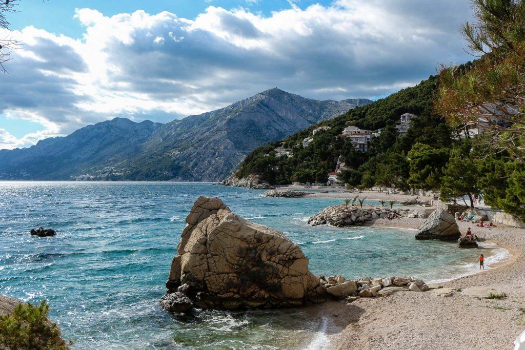 Brela, Makarska Riviera - Kroatien // Kroatien - die schönsten Reisziele und Urlaubsorte im Land der 1000 Inseln, Highlights & Tipps, Kroatien-Trip, Kroatien Blog, www.miss-classy.com #kroatien #reise #reiseblog #makarska