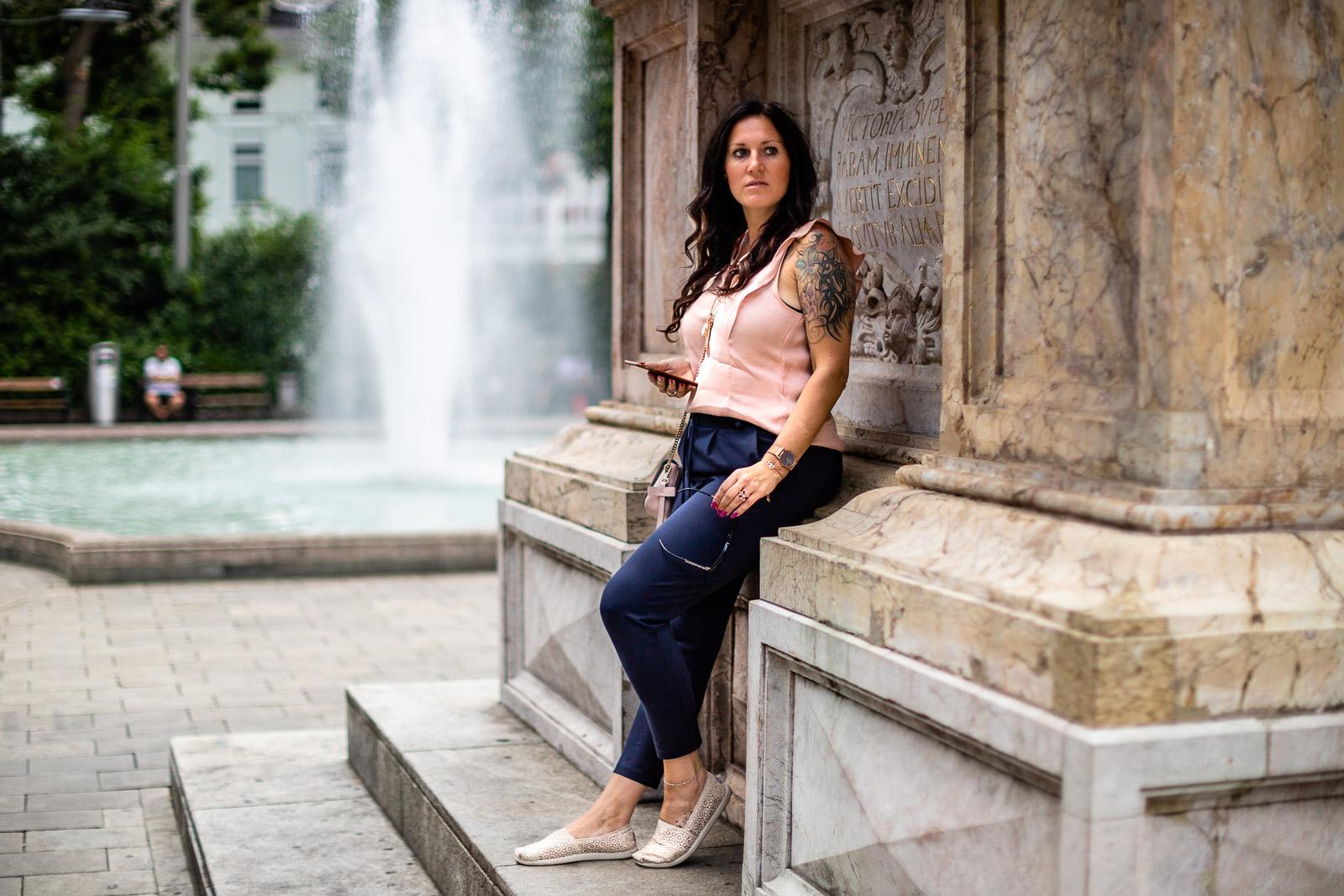 Miss Classy am Eisernen Tor in Graz