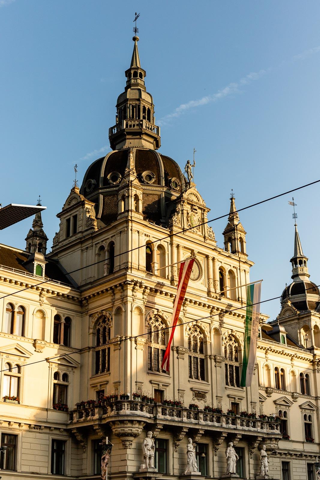 Rathaus Hauptplatz Graz