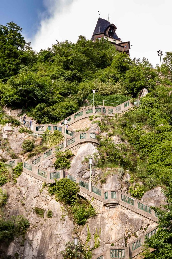Schloßbergtreppen Graz