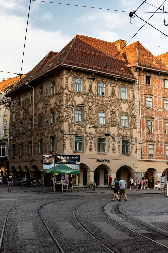 Swarovksi Hauptplatz Graz