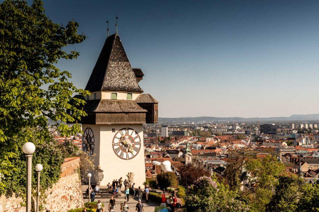 Uhrturm Schloßberg Graz