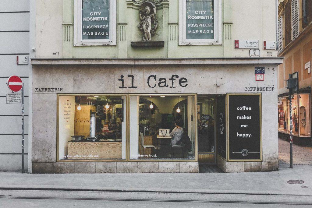 il Cafe, Kaffee trinken in Graz - Das sind die besten Cafés & Coffee Shops // Cafés in Graz, Kaffee trinken, Graz Blog, www.miss-classy.com #cafe #kaffee #graz