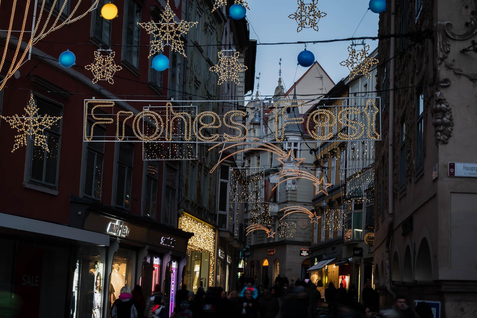 Krippenweg - Adventmärkte Graz, Weihnachtsmärkte, Christkindmarkt