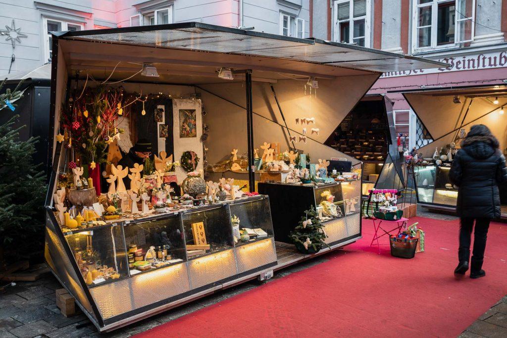 Kunsthandwerk Mehlplatz - Adventmärkte Graz, Weihnachtsmärkte, Christkindmarkt