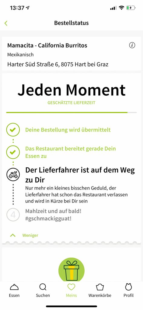 Lazy Sunday mit MJAM - Online essen bestellen // Blog, Graz, Lieferservice, Miss Classy, www.miss-classy.com #mjam #lieferdienst #missclassy