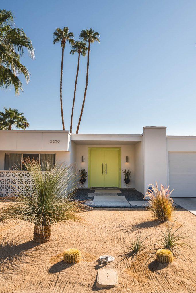 Door Tour of Palm Springs - Türen von Palm Springs