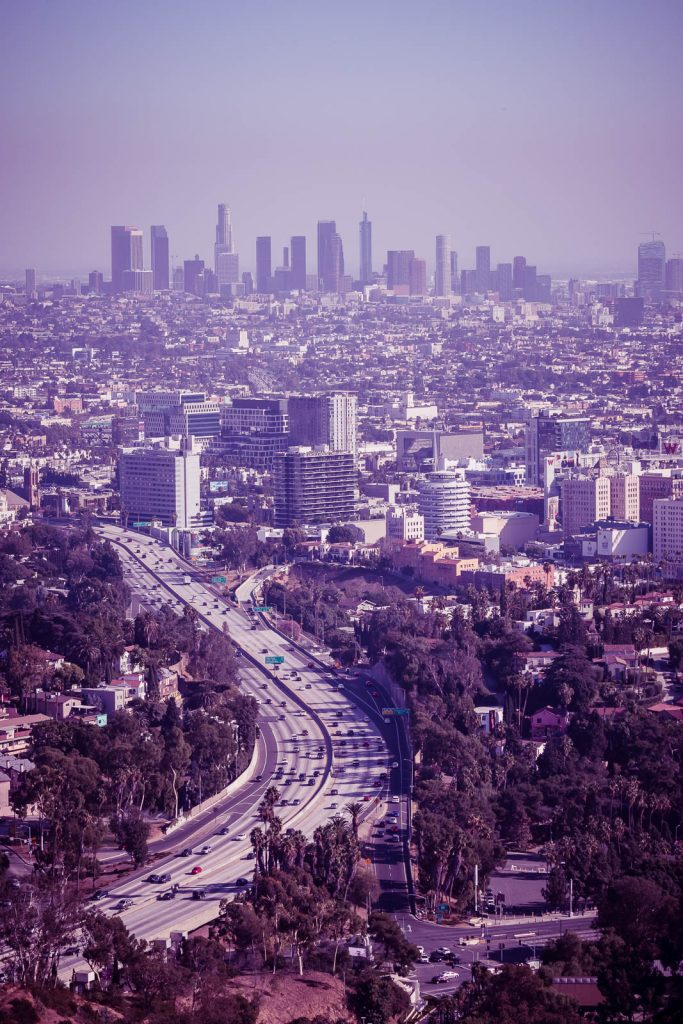 Los Angeles - Hollywood Bowl Overlook