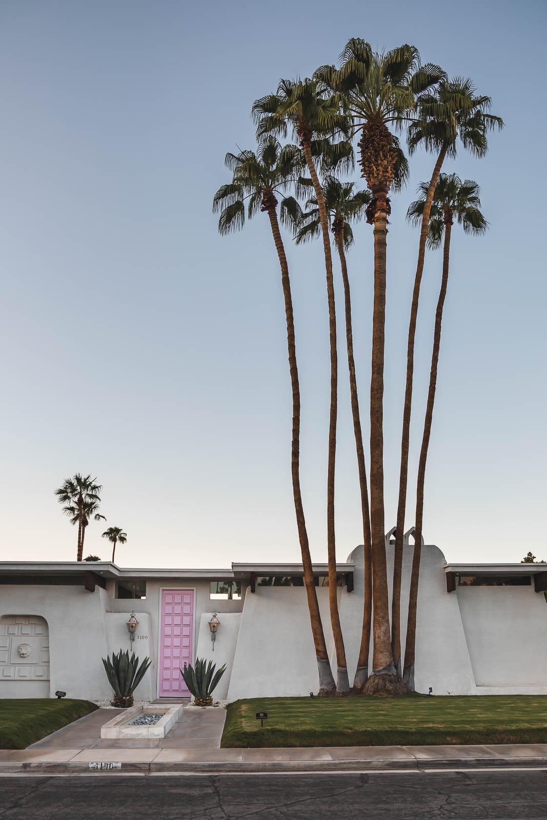 #thatpinkdoor, Pink Door, Door Tour of Palm Springs - Türen von Palm Springs