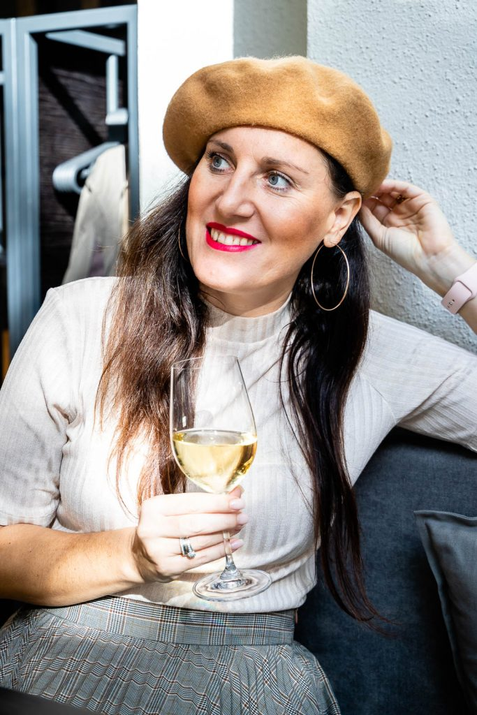 Miss Classy, Doris im Weinbistro Wein & Co, Graz
